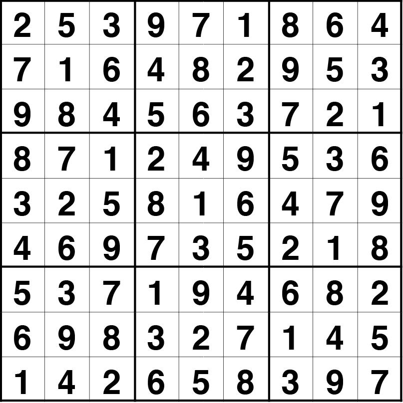sudoku fácil 12 oct