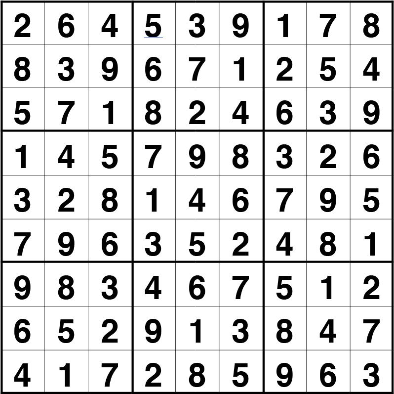 sudoku fácil 13 oct