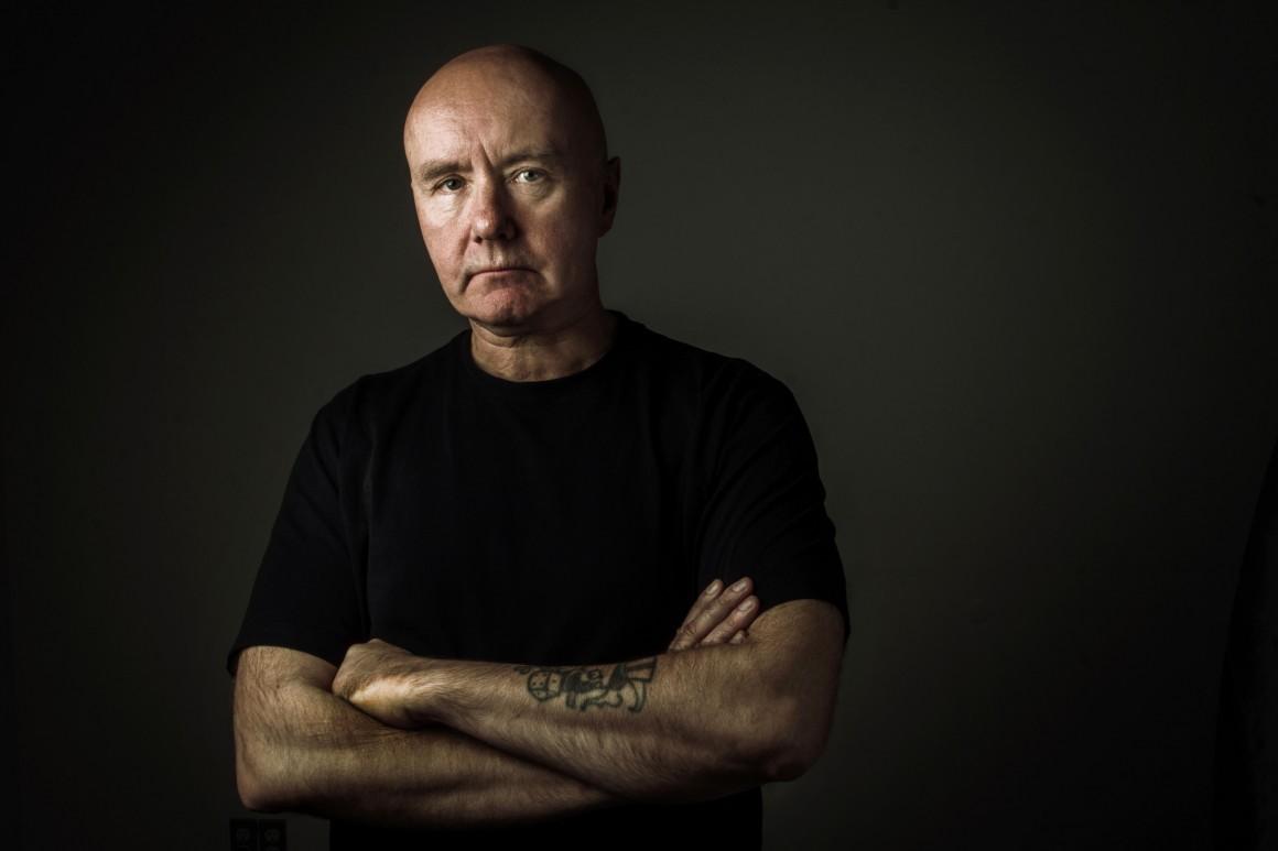 A los 16 años vi por primera vez Trainspotting, ahora de 32 años, tuve el honor y gusto de fotografiar al autor de la novela, Irvine Welsh.