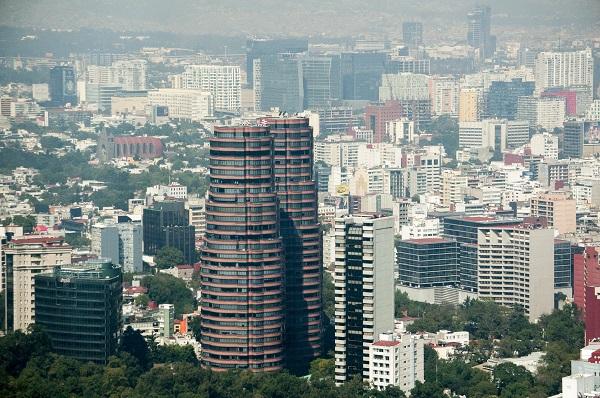 MÉXICO, D.F., 10NOVIEMBRE2014.- Vista aérea de la colonia Polanco de la delegación Miguel Hidalgo, la cual luce con decenas de edificios habitacionales y corporativos. FOTO: DIEGO SIMÓN SÁNCHEZ /CUARTOSCURO.COM