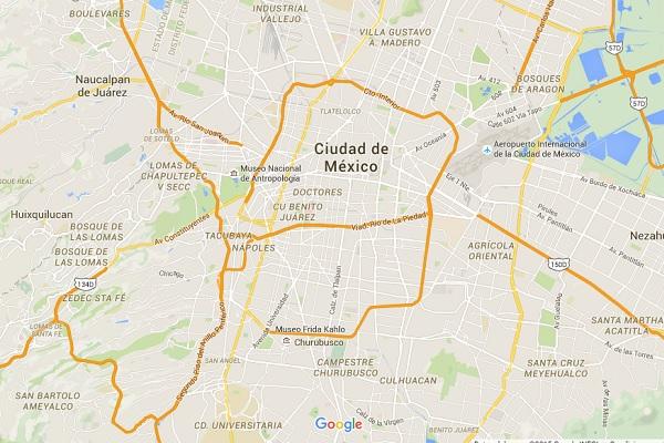 Www Google Maps Mexico City
