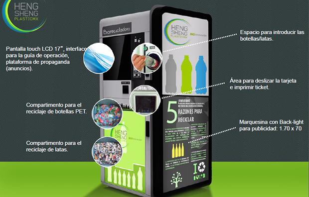 Recicla y viaja gratis en metro y metrob s m sporm s - Maquina de reciclaje de plastico ...