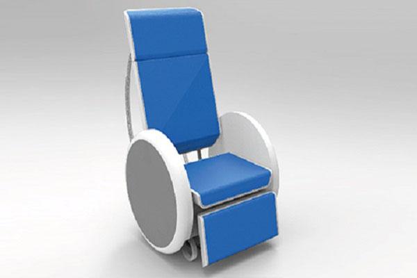 Dise an en la unam silla de ruedas que se hace cama for Silla que se hace escalera