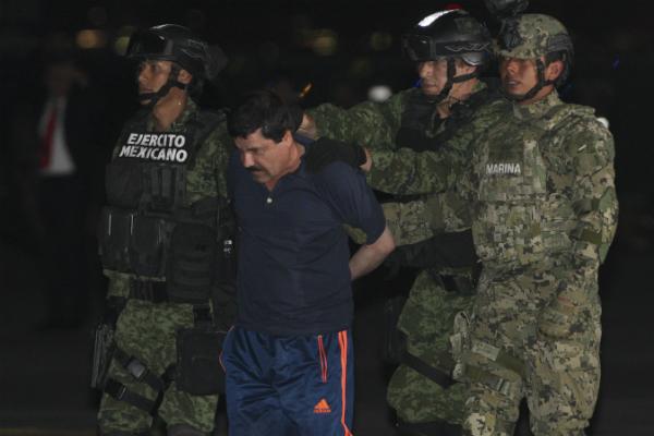 El Chapo captura