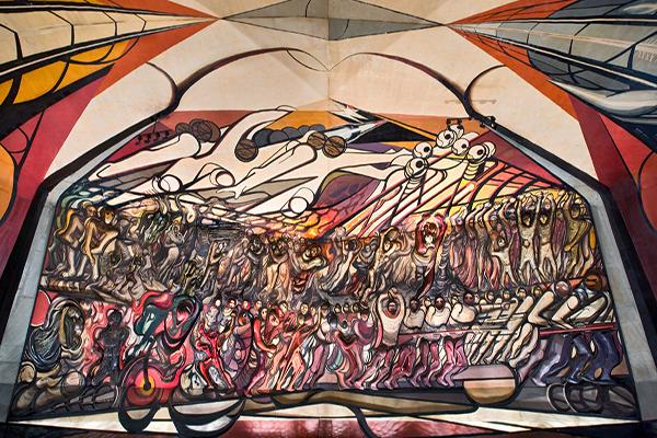 5 murales de siqueiros que puedes encontrar en la cdmx for El mural de siqueiros