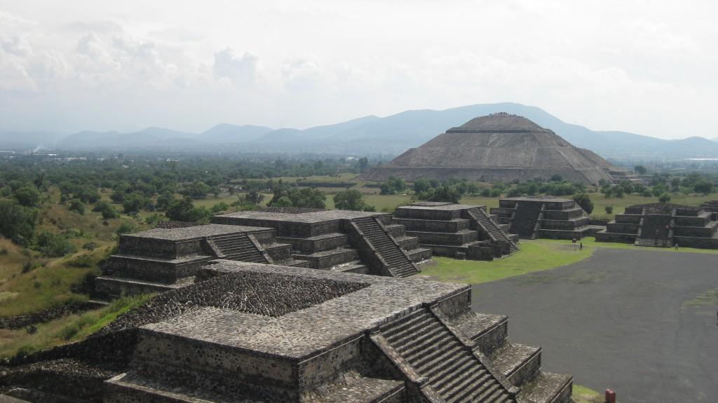 pirámides de teotihuacán