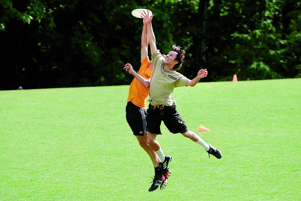 ultimate frisbee 1