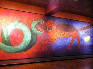 vestíbulo del Museo Nacional de Antropología, Dualidad RufinoTamayofoto especial