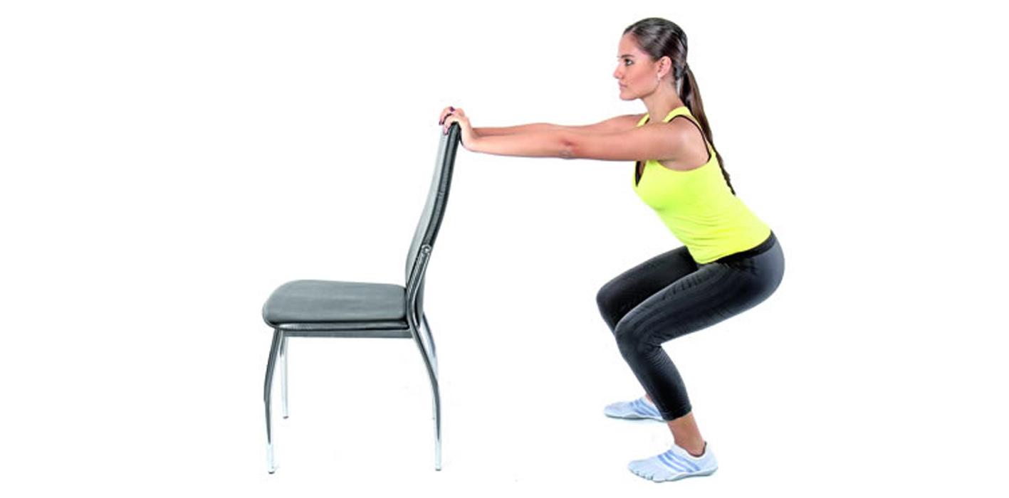 Ejerc tate solamente utilizando una silla m sporm s - Sillas para la espalda ...
