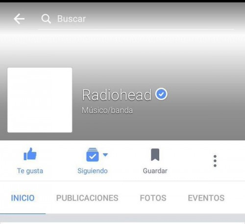 Facebook Radiohead