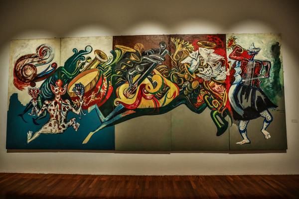 Se va la muestra 39 el arte de la m sica 39 de bellas artes for Sala ollin yoliztli