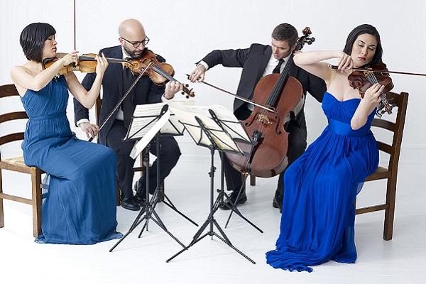 ENSO QUARTET - Maureen Nelson, violin - John Marcus, violin - Melissa Reardon, viola - Richard Belcher, cello