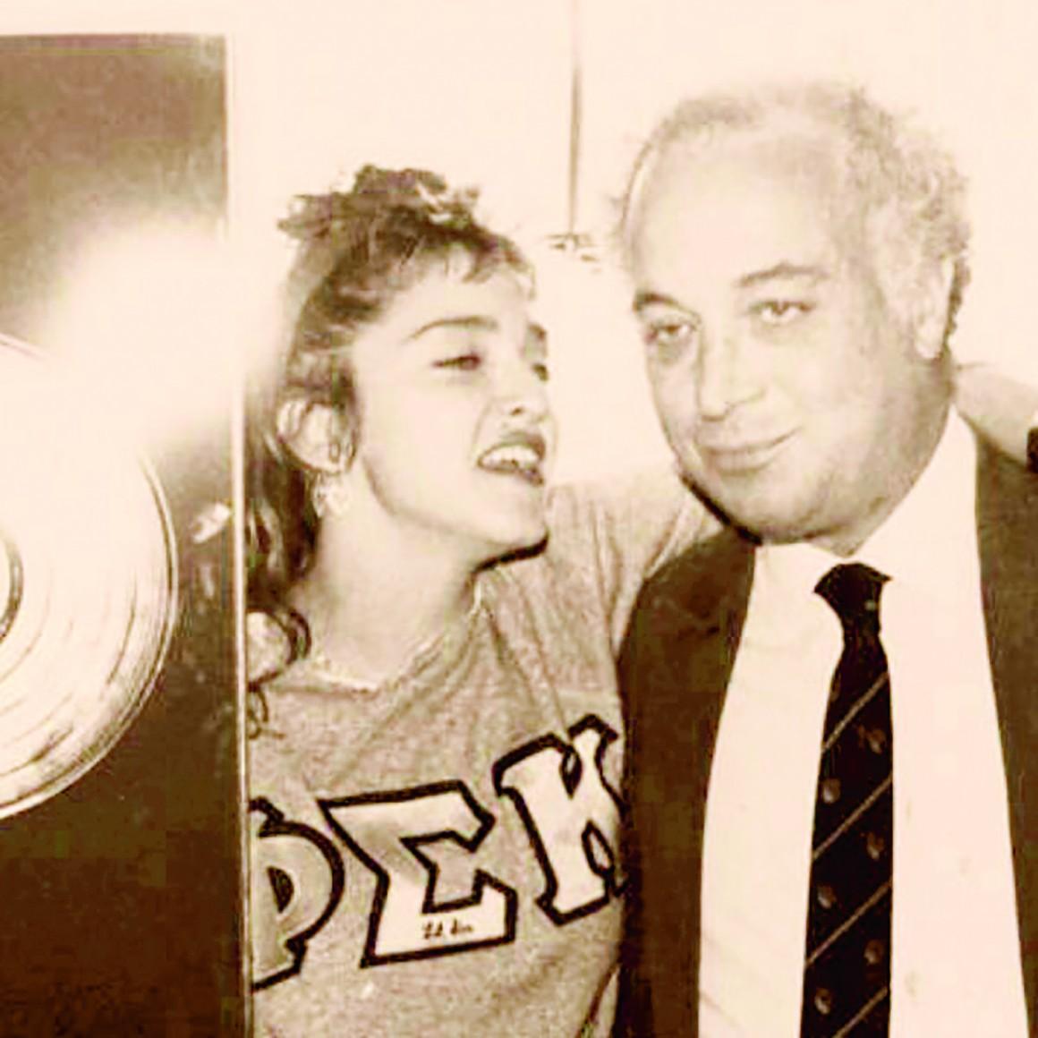 Seymour con Madonna