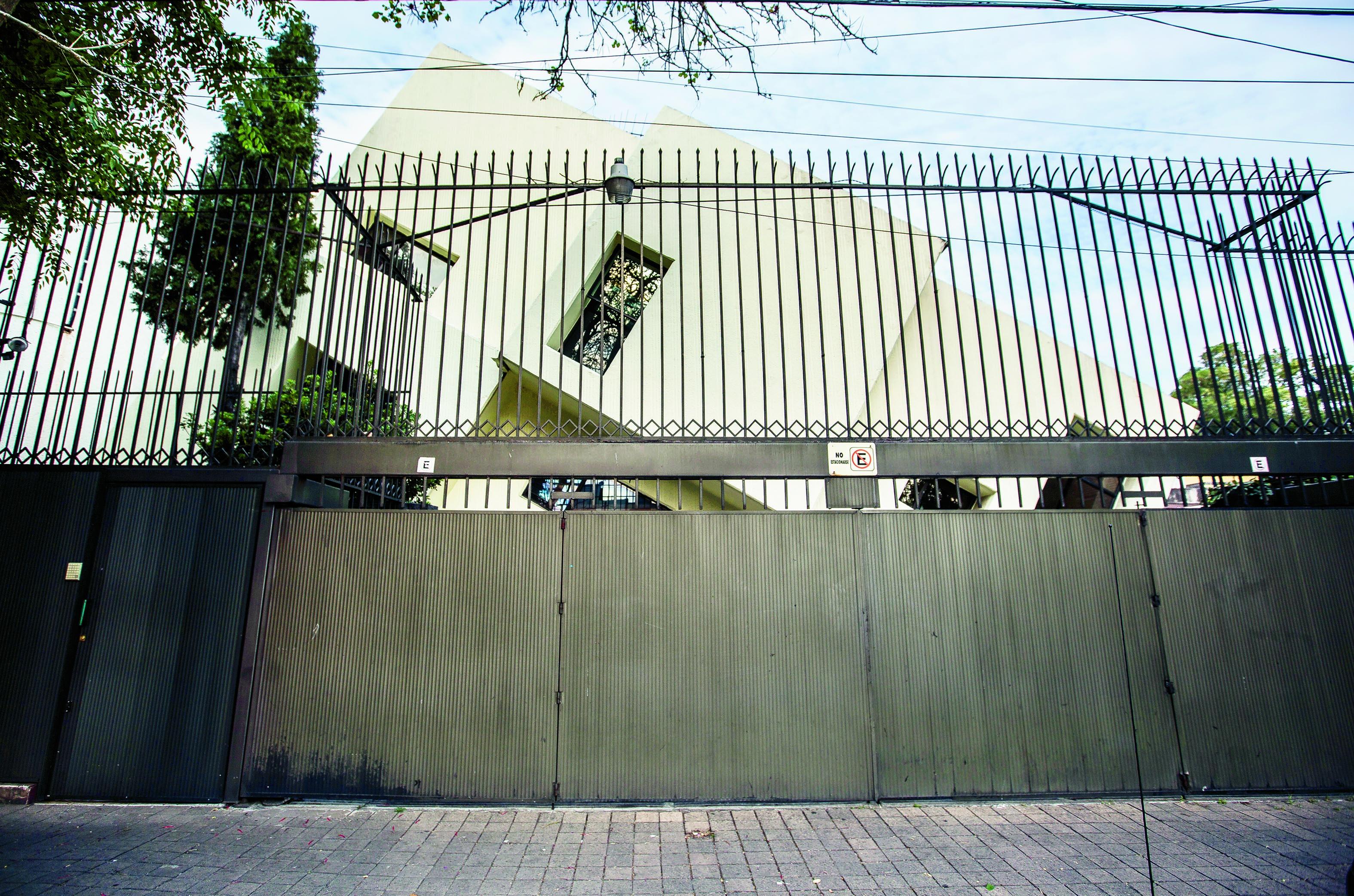 Casa Chueca, CDMX, una de las casas extrañas de México.