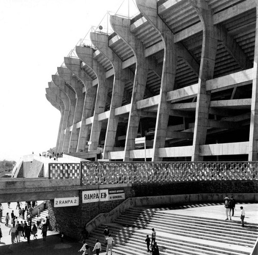 estadio azteca 1960
