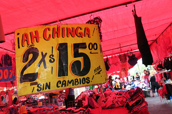 Tianguis en Santa Cruz Meyehualco