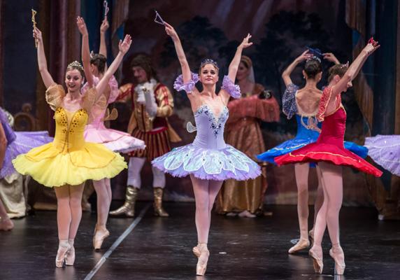 LA BELLA DURMIENTE ballet1
