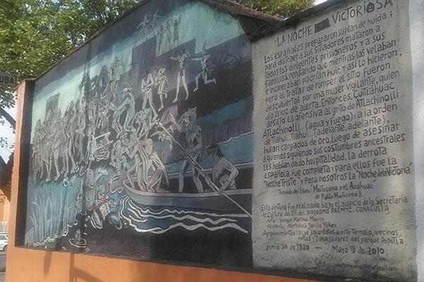 mural en Tacuba