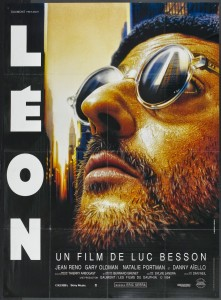 LEON - French Poster by Laurent Lufroy