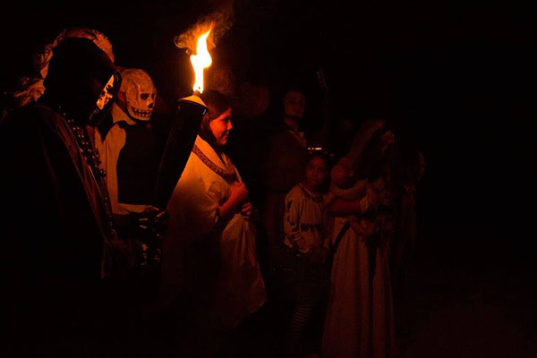 Noche de Leyendas Huasca
