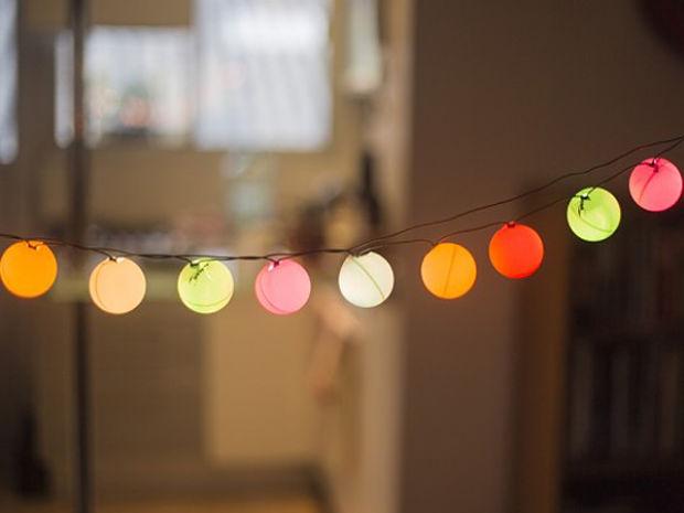 4 ideas para decorar con luces msporms - Guirnaldas De Luces
