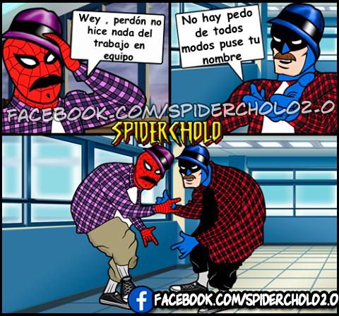 spi3 el morro de la peralvillo detrás de spidercholo máspormás