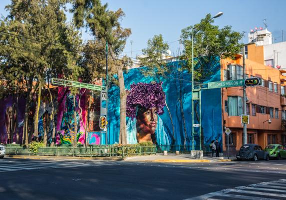 Corredor de Arte Urbano Buenavista-Guerrero. Lulú Urdapilleta 1