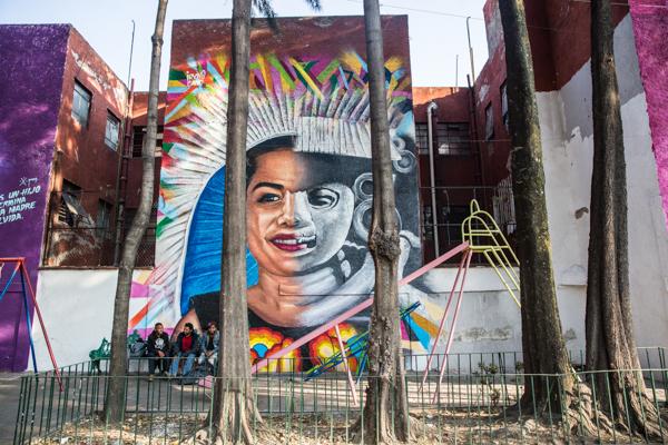 Corredor de Arte Urbano Buenavista-Guerrero. Lulú Urdapilleta 10