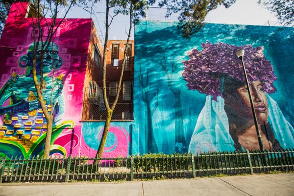 Corredor de Arte Urbano Buenavista-Guerrero. Lulú Urdapilleta 12