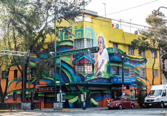 Corredor de Arte Urbano Buenavista-Guerrero. Lulú Urdapilleta 13