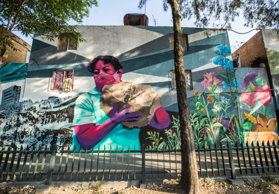 Corredor de Arte Urbano Buenavista-Guerrero. Lulú Urdapilleta 15