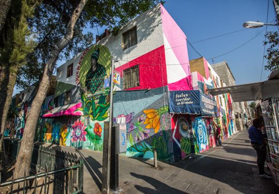 Corredor de Arte Urbano Buenavista-Guerrero. Lulú Urdapilleta 16
