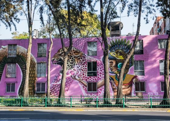Corredor de Arte Urbano Buenavista-Guerrero. Lulú Urdapilleta 2