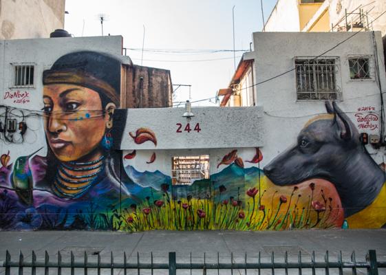 Corredor de Arte Urbano Buenavista-Guerrero. Lulú Urdapilleta 20