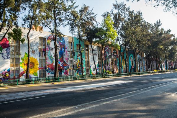 Corredor de Arte Urbano Buenavista-Guerrero. Lulú Urdapilleta 21