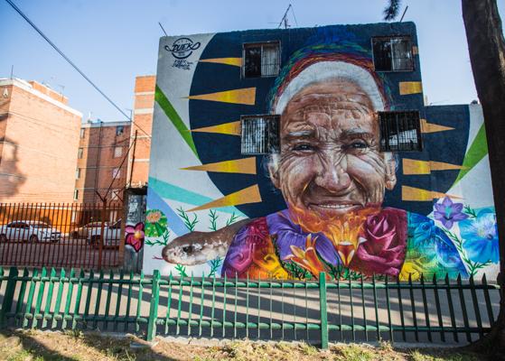 Corredor de Arte Urbano Buenavista-Guerrero. Lulú Urdapilleta 3