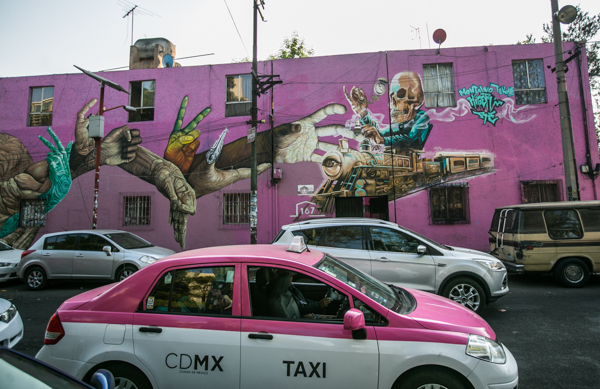 Corredor de Arte Urbano Buenavista-Guerrero. Lulú Urdapilleta 4