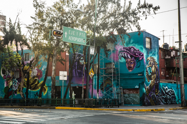 Corredor de Arte Urbano Buenavista-Guerrero. Lulú Urdapilleta 5