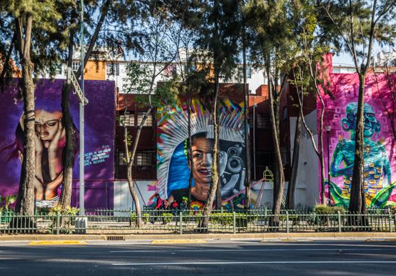 Corredor de Arte Urbano Buenavista-Guerrero. Lulú Urdapilleta 7