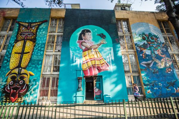 Corredor de Arte Urbano Buenavista-Guerrero. Lulú Urdapilleta 8