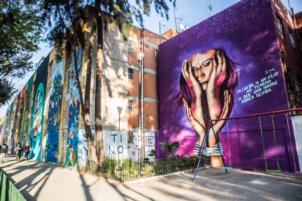 Corredor de Arte Urbano Buenavista-Guerrero. Lulú Urdapilleta 9