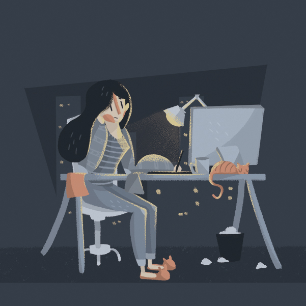 En dos años aumentó el número de quienes se animan a trabajar como freelance. Arte Michel Laris