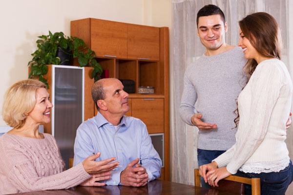 Conocer a la familia es algo que pasa al inicio de una relación