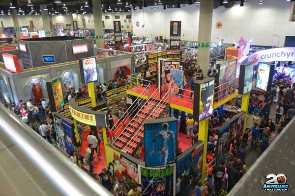 Ya viene la primera edición de 2017 de La Mole Comic Con