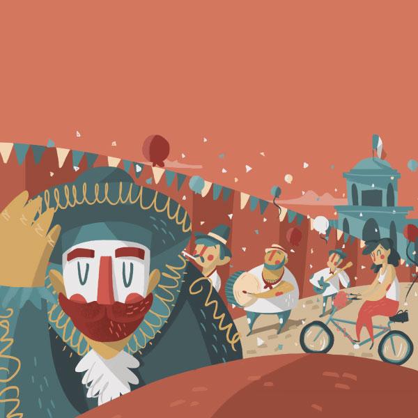 Carnavales en la ciudad de México