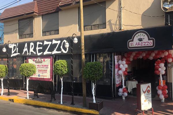 El Café Di Arezzo ofrece café de molienda