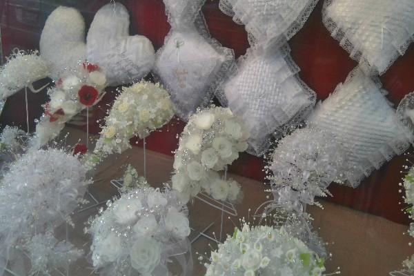Calle de los vestidos de novia en df