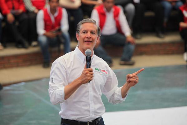 l candidato de la coalición PRI-PNA-PES-PVEM a la gubernatura del Estado de México, Alfredo del Mazo Maza visito el municipio de Tejupilco