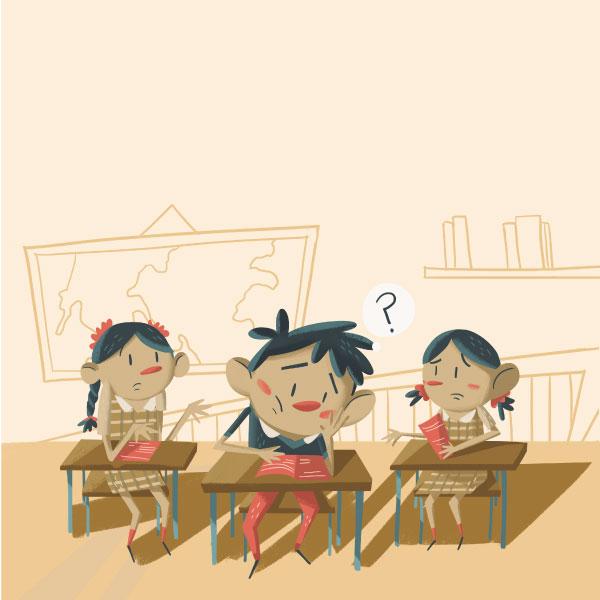 primaria que da clases a niños en lenguas maternas