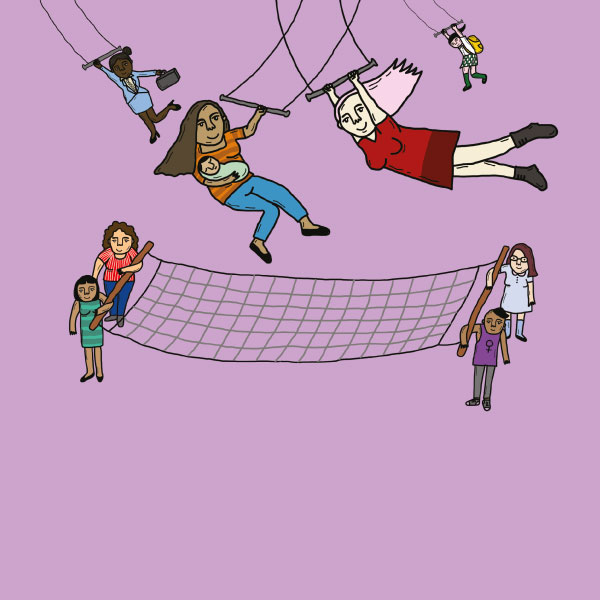 Colectivos contra la violencia de género